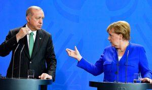 أردوغان تهرب من الجلوس الى جانب السيسي.. هذا ما فعله بمؤتمر برلين