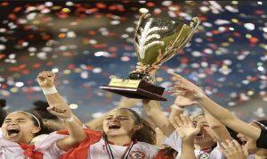 فوز منتخب لبنان للشابات ببطولة غرب آسيا… وابنة وهاب تقود الفريق