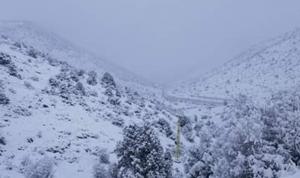 لبنان يودّع العاصفة ويستقبل الجليد والصقيع!