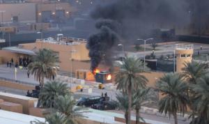 السفارة الأميركية في بغداد تعلّق عملياتها