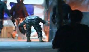 شرطة المجلس: لم نحرق خيم المعتصمين!