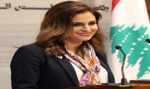 وزيرة الاعلام: اجتماعات متتالية لاعداد البيان الوزاري ولا عراقيل