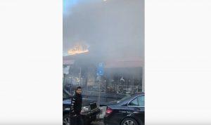 انفجار قارورة غاز داخل مطعم في فردان
