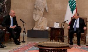 عون: لتعزيز التعاون الاقتصادي والسياحي مع اليونان وقبرص