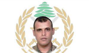قيادة الجيش نعت العريف الشهيد أيمن مهدي المحمد