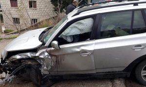 6  جرحى بحادث سير في عجلتون