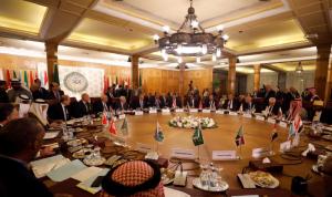 """""""الجامعة العربية"""": على بايدن الانخراط في عملية السلام"""