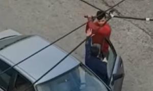 بالفيديو: اصطدم به فهدده بفراعة!