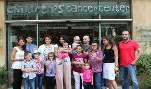 ريما فقيه سفيرة مركز سرطان الأطفال