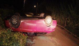 اصابة شقيقتين بجروح في حادث سير على طريق برج الملوك