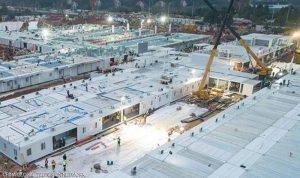 كيف تم تصميم وبناء مستشفى في غضون أيام في الصين؟