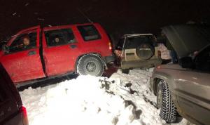 إنقاذ مواطنين حاصرتهم الثلوج في ترشيش وعين زحلتا