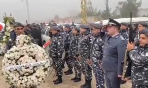 بالفيديو: مراسم تشييع الشهيدين شريف والعطار