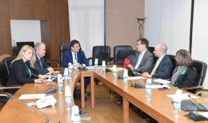كنعان التقى وفد صندوق النقد: ندعم خطة متكاملة تستعيد الثقة بلبنان