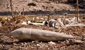 العثور على قنبلة قديمة العهد في خراج الخيام