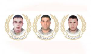 الجيش نعى العسكريين الثلاثة الذين استشهدوا في الهرمل