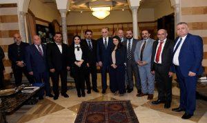 مجلس الأعمال اللبناني الصيني التقى وزير الداخلية