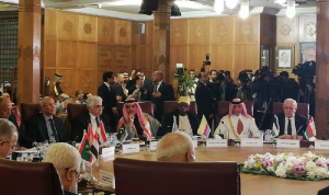 حتي من القاهرة: لبنان ملتزم مبادرة السلام العربية