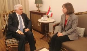 حتي عرض مع ريتشارد وزاسبكين سبل مساعدة لبنان اقتصاديًا