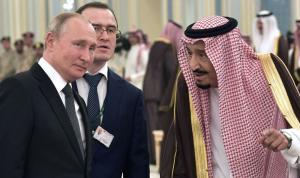 اتصال هاتفي بين بوتين والملك سلمان