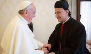 البابا فرنسيس يلتقي الراعي في الفاتيكان
