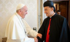 الراعي: البابا فرنسيس مدرك لدور المسيحيين ورسالتهم