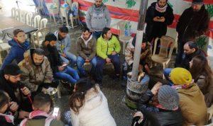 خيمة اعتصام حلبا  تحتضن ثوار صيدا (بالفيديو)