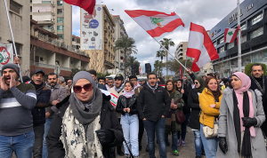 """مسيرة راجلة في صيدا.. """"كرمال لبنان"""""""