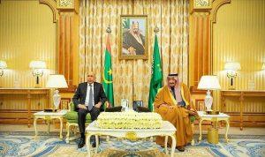 توقيع اتفاقيات ومذكرات تفاهم بين السعودية وموريتانيا