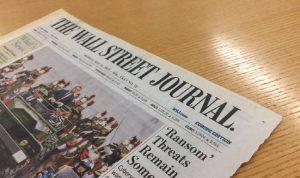 """الصين تسحب بطاقات صحافيين من """"وول ستريت جورنال"""""""