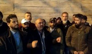 بالفيديو- ثوار طرابلس يحذرون وزير الاتصالات