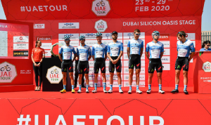 فريق إسرائيلي يشارك في حدث رياضي في الإمارات