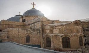 إغلاق كنيسة القيامة في القدس بسبب كورونا