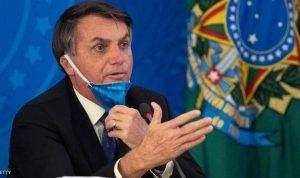 """الرئيس البرازيلي يتحدى """"كورونا"""".. ويحشد مواطنيه"""