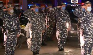 بالفيديو: تحية عسكرية أمام مستشفى الحريري