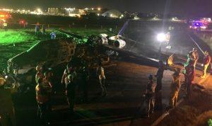 8 في انفجار طائرة طبية في العاصمة الفلبينية