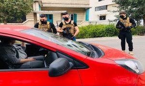 دوريات وحواجز لأمن الدولة في جونيه (فيديو)