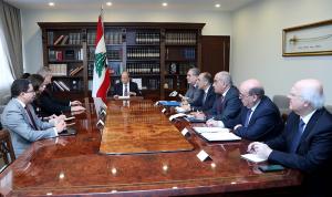 عون: الحكومة تتخذ الاجراءات المناسبة لمكافحة كورونا