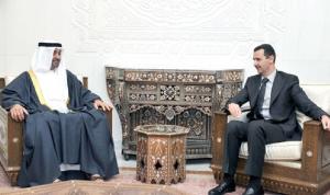 """أبعاد الاتصال الإماراتي بالأسد: منع حكم""""الإخوان"""" في دمشق!"""