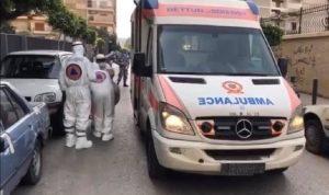 """نقل مسنّ مشتبه بإصابته بـ""""كورونا"""" إلى مستشفى الحريري"""
