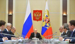 بوتين: لسنا في منأى عن تداعيات كورونا
