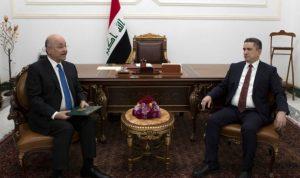 الرئيس العراقي يكلف عدنان الزرفي بتشكيل الحكومة الجديدة