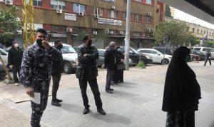 انتشار لقوى الامن في طرابلس امام ماكينات الـatm