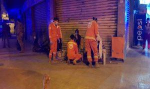 إصابة 24 شخصا بحريق في طرابلس