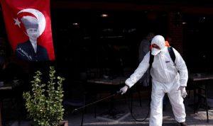 """أكثر من 100 ألف إصابة بـ""""كورونا"""" في تركيا"""