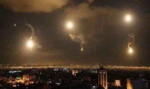 الدفاعات السورية تتصدّى لغارات جوية إسرائيلية