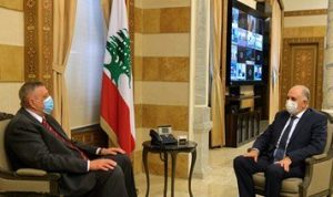فهمي استقبل سفيرة إيطاليا وعرض مع كوبيتش للأوضاع اللبنانية