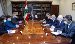 عون: لبنان يعاني من 3 مآسٍ