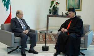"""دعوة الراعي إلى """"حياد لبنان"""" محور لقاء مرتقب مع عون"""