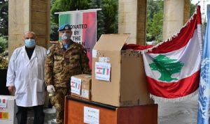 هبة من الكتيبة الايطالية لمستشفى بنت جبيل الحكومي